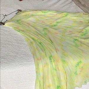 Alice + Olivia floral print maxi skirt